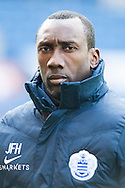Queens Park Rangers manager Jimmy Floyd Hasselbaink prior to the Sky Bet Championship match at Turf Moor, Burnley<br /> Picture by Matt Wilkinson/Focus Images Ltd 07814 960751<br /> 02/05/2016