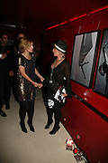Natalie Imbruglia and Lulu, MOVE FOR AIDS HOSTED BY ELLE MACPHERSON & DAVID FURNISH. Koko, Camden High St. London. 7/11/06. ONE TIME USE ONLY - DO NOT ARCHIVE  © Copyright Photograph by Dafydd Jones 66 Stockwell Park Rd. London SW9 0DA Tel 020 7733 0108 www.dafjones.com
