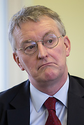 © London News Pictures . FILE PIC 03/02/2014 . . HILARY BENN , MP for Leeds Central a joins Labour candidate Mike Kane on the campaign trail ahead of the Wythenshawe and Sale East by-election. Reports have suggested that Hilary Benn might be moved from his position as  shadow foreign secretary in this weeks expected shadow cabinet reshuffle.  Photo credit : Joel Goodman/LNP