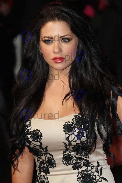 Bianca Gascoigne Burlesque UK film premiere, Empire Cinema, Leicester Square, London, UK, 13 December 2010:  Contact: Ian@Piqtured.com +44(0)791 626 2580 (Picture by Richard Goldschmidt)