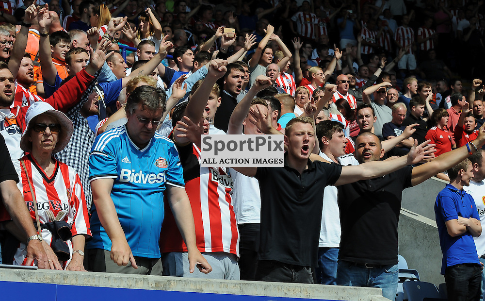 Sunderland fans in good voice before kick off (c) Simon Kimber | SportPix.org.uk