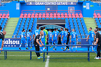 Getafe CF players during the session of the official photo of the first team squad for the 2017/2018 season. September 19,2017. (ALTERPHOTOS/Acero)