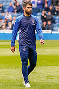 Daniel Candeias of Rangers FC during the Ladbrokes Scottish Premiership match between Rangers and Aberdeen at Ibrox, Glasgow, Scotland on 27 April 2019.