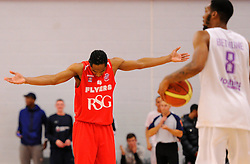 Bristol Flyers' Chris Bourne  - Photo mandatory by-line: Joe Meredith/JMP - Mobile: 07966 386802 - 18/04/2015 - SPORT - Basketball - Bristol - SGS Wise Campus - Bristol Flyers v Leeds Force - British Basketball League