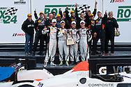 #7 Starworks Motorsport e ORECA FLM09: Alex Popow, Martin Fuentes, Isaac Tutumlu, Kyle Marcelli, Pierre Kaffer