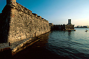 MEXICO, MAJOR CITIES Veracruz; San Juan de Ulua fortress built in the 15-17th C. by the Spanish to protect the entrance into Veracruz harbor