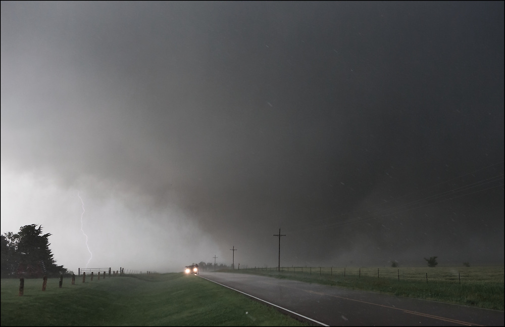 Weather conditions came together for a tornado that formed north of Salina, Kansas forming a monster that traveled nearly 90 miles east/southeast near Solomon, Kansas.