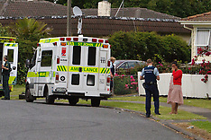 Auckland-Emergency services attend a one year old drowning, Manurewa