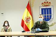 040320 King Felipe VI visits Operations Command (MOPS)