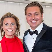 NLD/Amsterdam/20180616 - 26ste AmsterdamDiner 2018, Pieter van den Hoogenband en partner Marie José Crooijmans