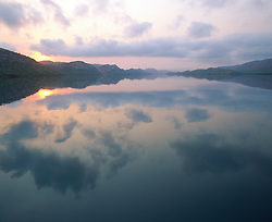 Early morning reflections in Talbot Bay in the Buccaneer Archipelago.