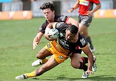 Auckland - Rugby League - Warriors v Broncos