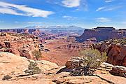 Scenic overlook in Canyonlands National Park, Utah