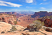 Scenic overlook in Canyonlands National Park, Utah