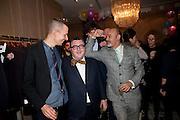 Lucas Ossendrijver; ALBER ELBAZ; CHRISTIAN LOUBOUTIN, LANVIN PARTY. Savile Row. London. 11 November 2009.