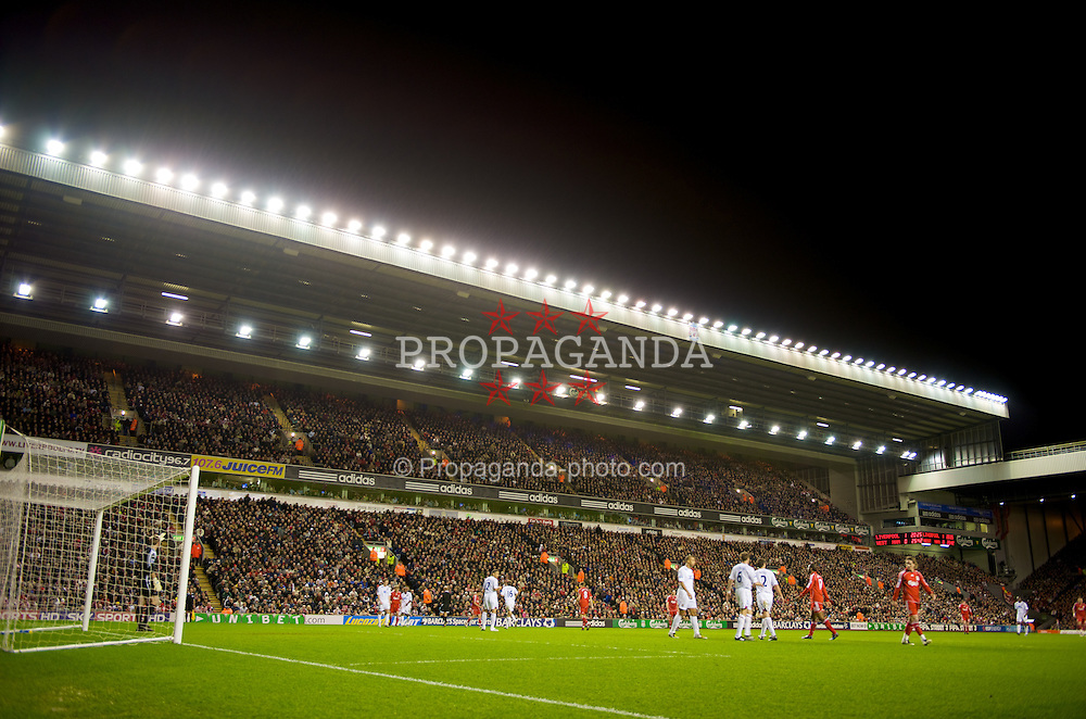 LIVERPOOL, ENGLAND - Wednesday, March 5, 2008: The Centenary Stand at Anfield as Liverpool take on West Ham United during the Premiership match. (Photo by David Rawcliffe/Propaganda)