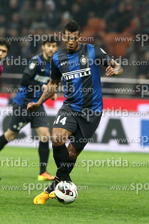 10.03.2013, Giuseppe-Meazza-Stadion, Mailand, ITA, Serie A, Inter Mailand vs FC Bologna, 28. Runde, im Bild Fredy Guarin Inter // during the Italian Serie A 28th round match between Inter Milan and Bologna FC at the Giuseppe Meazza Stadium, Milan, Italy on 2013/03/10. EXPA Pictures © 2013, PhotoCredit: EXPA/ Insidefoto/ Paolo Nucci..***** ATTENTION - for AUT, SLO, CRO, SRB, BIH and SWE only *****
