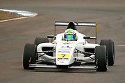 Roberto Faria(BRA) Fortec Motorsport during the FIA Formula 4 British Championship at Knockhill Racing Circuit, Dunfermline, Scotland on 15 September 2019.