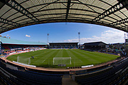 8th September 2019; Dens Park, Dundee, Scotland; Tunnocks Caramel Wafer Cup, Dundee Football Club versus Elgin City; General view of the Kilmac Stadium at Dens Park home of Dundee