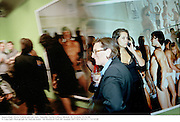 Amsterdam, Mario Testino private view. Timothy Taylor Gallery, Bruton  Pl. London. 23/9/99. © Copyright Photograph by Dafydd Jones   66 Stockwell Park Rd. London SW9 0DA Tel 0171 733 0108