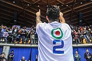 DESCRIZIONE : Final Eight Coppa Italia 2015 Finale Olimpia EA7 Emporio Armani Milano - Dinamo Banco di Sardegna Sassari<br /> GIOCATORE : Brian Sacchetti<br /> CATEGORIA : Esultanza Tifosi<br /> SQUADRA : Dinamo Banco di Sardegna Sassari<br /> EVENTO : Final Eight Coppa Italia 2015<br /> GARA : Olimpia EA7 Emporio Armani Milano - Dinamo Banco di Sardegna Sassari<br /> DATA : 22/02/2015<br /> SPORT : Pallacanestro <br /> AUTORE : Agenzia Ciamillo-Castoria/L.Canu