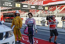 February 28, 2019 - Barcelona, Catalonia, Spain - Lance Stroll Racing Point UK during F1 test celebrated at Circuit of Barcelona 28th February 2019 in Barcelona, Spain. (Credit Image: © Urbanandsport/NurPhoto via ZUMA Press)