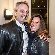 NLD/Amsterdam/20161122 - Lancering XXXL Magazine, Amanda Beekman en partner Harrie Kolen