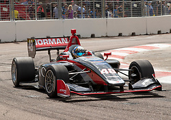 March 9, 2019 - St. Petersburg, FL, U.S. - ST. PETERSBURG, FL - MARCH 09: Ryan Normman (48) during the Indy Lights Race of St. Petersburg on March 9 in St. Petersburg, FL. (Photo by Andrew Bershaw/Icon Sportswire) (Credit Image: © Andrew Bershaw/Icon SMI via ZUMA Press)