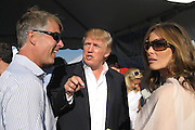 Richard Johnson, Donald and Melania Trump.Mercedes-Benz Challenge Cup.Bridgehampton Polo.Bridgehampton Polo Club, Hayground Road, Water Mill, NY, USA.Saturday, August 18, 2007.Photo By Celebrityvibe.com.To license this image please call (212) 410. 5354; or.Email: celebrityvibe@gmail.com ;.