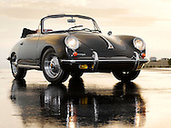 Automotive - Black Prosche 356C