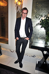 PAURIC SWEENEY at a dinner hosted by designer Pauric Sweeney held in The Postilion Roon, The Langham, ondon on 23rd June 2009.