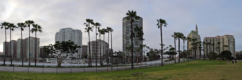 Downtown Long Beach Panoramic