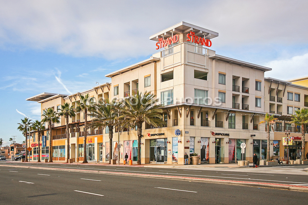 The Strand Retail Shopping Center in Huntington Beach