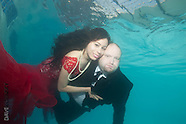 Betsy Zorillo Underwater Save the Date Shoot