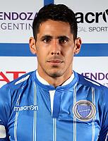 Argentina Football League First Division - Axion Energy 2016-2017 / <br /> Club Deportivo Godoy Cruz - <br /> Diego Viera