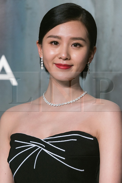© Licensed to London News Pictures. 26/04/2017. London. SHISHI LIU attends the Omega party celebrating 60 Years of the Speedmaster watch. Photo credit: Ray Tang/LNP