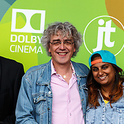 NLD/Hilversum/20150715 - Premiere Binnenstebuiten, .......... en Nafiesa Rasoelbaks