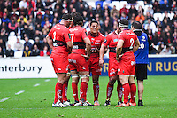 Chris Masoe - 19.04.2015 - Toulon / Leinster - 1/2Finale European Champions Cup -Marseille<br /> Photo : Andre Delon / Icon Sport