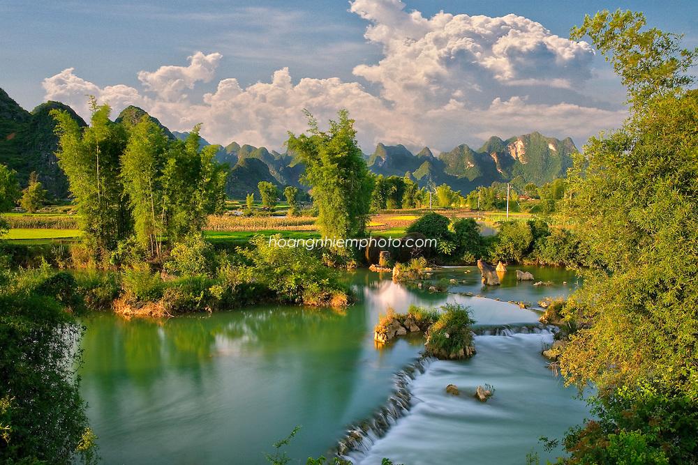 Vietnam Images-Landscape-Nature-Cao Bang phong cảnh việt nam