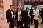 TRISTRAM HUNT; SIR PETER STOTHARD, MICHAEL LANDY; GILLIAN WEARING; NICHOLAS CULLINAN,,  RA Annual dinner 2018. Piccadilly, 5 June 2018.