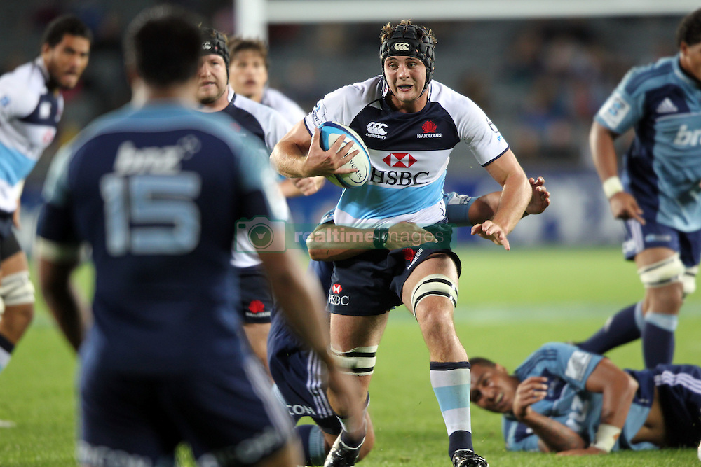 Dean Mumm. Investec Super Rugby - Blues v Waratahs, Eden Park, Auckland, New Zealand. Saturday 16 April 2011. Photo: Clay Cross / photosport.co.nz