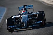 Circuito de Jerez, Spain : Formula One Pre-season Testing 2014. Adrian Sutil (GER), Sauber-Ferrari