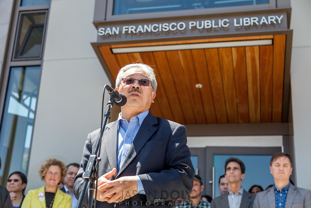 SFPL North Beach opening