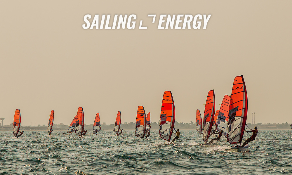 RS:X WORLD CHAMPIONSHIP 2015, October 17th-24th Al Mussanah Sports City, Sultanate. 4th day of racing, golden fleets 22.10.2015<br /> <br /> Credit Jesus Renedo/Oman Sail