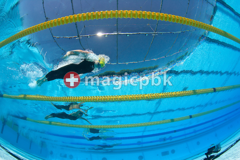 Jessicah SCHIPPER of Australia competes in the women's 200m butterfly heats at the 13th FINA World Championships at the Foro Italico complex in Rome, Italy, Wednesday, July 29, 2009. (Photo by Patrick B. Kraemer / MAGICPBK)