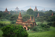 Bagan (formerly Pagan) with around 10 000 temples, monasteries and pagodas built between the 11th and the 13th centuries was a capital of the Kingdom of Pagan. Nowadays is one of the highlights of Myanmar and one of the most popular tourist destinations there. The site is especially worth visiting at sunrise or sunset, when the hues of the sun make it incredibly beautiful.
