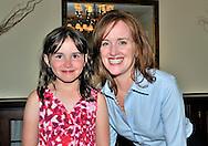 June 29, 2011 - Stewart Manor, New York, U.S. - Nassau County District Attorney Kathleen Rice with her niece, after D.A. Rice spoke at Stewart Manor County Club.