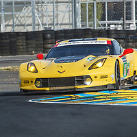 #63, Corvette Racing-GM,Chevrolet Corvette C7.R, driven by: Jan Magnussen, Antonio Garcia, Jordan Taylor on 14/06/2017 at the 24H of Le Mans, 2017