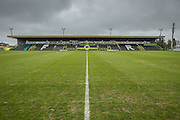 The New Lawn during the Vanarama National League match between Forest Green Rovers and Eastleigh at the New Lawn, Forest Green, United Kingdom on 20 February 2016. Photo by Shane Healey.