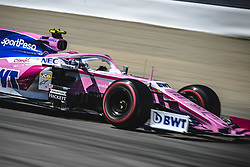 May 12, 2019 - Barcelona, Catalonia, Spain - LANCE STROLL (CAN) from team Racing Point drives in his RP19 during the Spanish GP at Circuit de Catalunya (Credit Image: © Matthias Oesterle/ZUMA Wire)